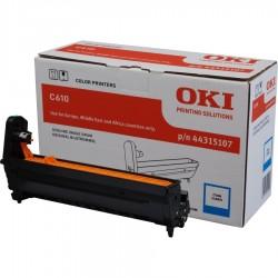 TONER ORIGINALE OKI C610 CIANO